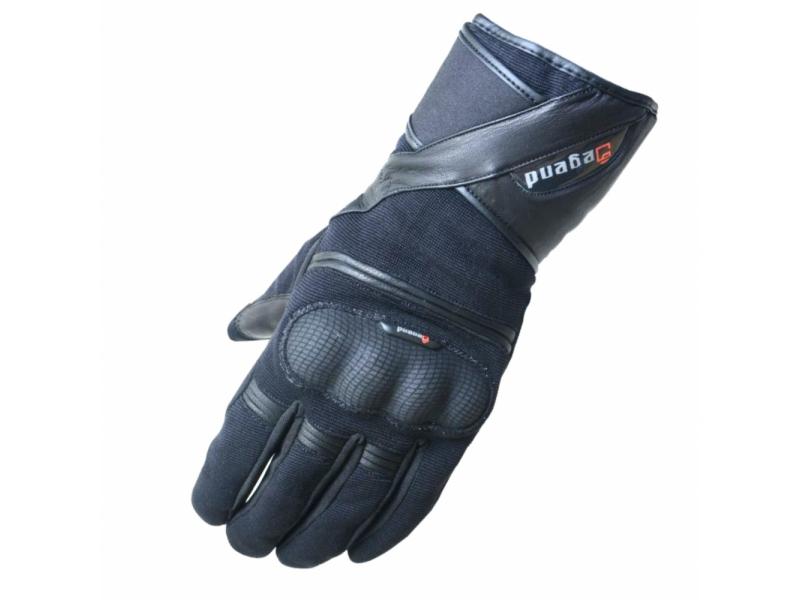 5e2b3702520 Rukavice moto DEGEND ORION kůže textil černé – CAPPA - Auto